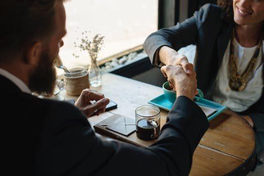 P2P Lending Meeting Handshake